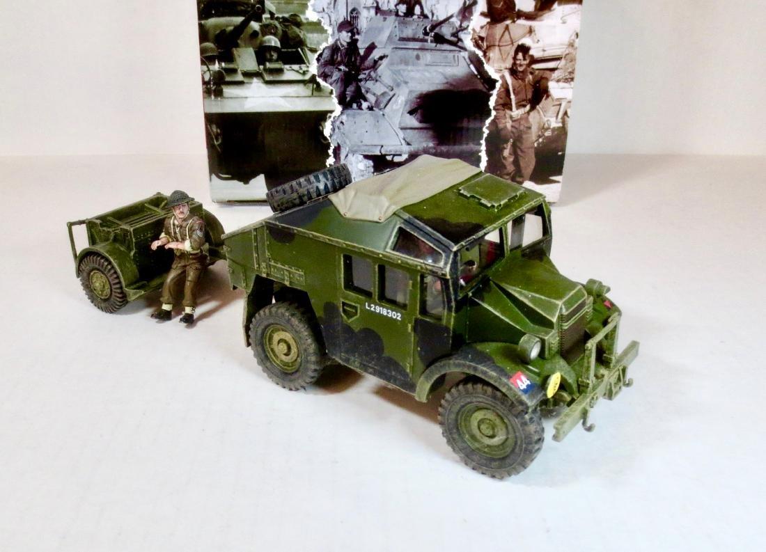 King & Country DD202 Morris C8 Field Artillery