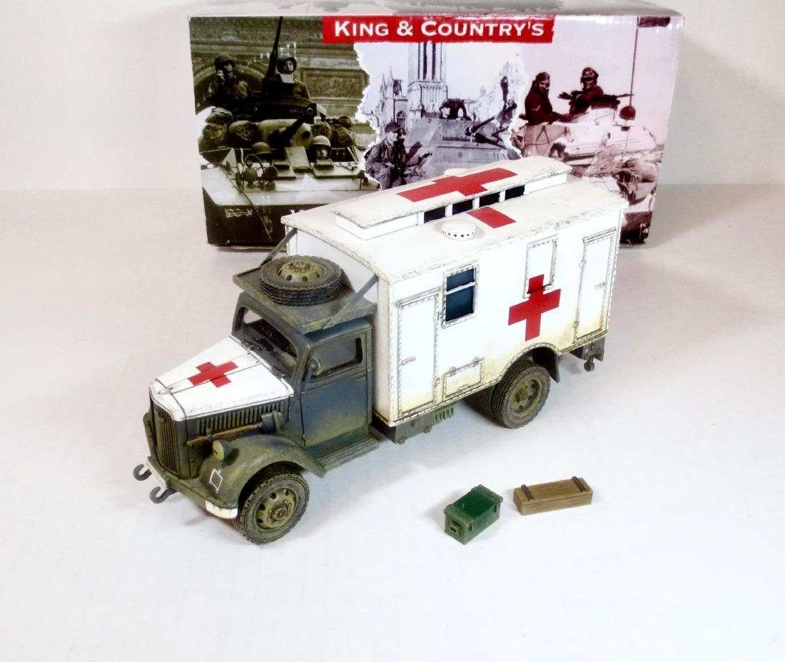 King & Country WS258 OPEL Blitz Ambulance