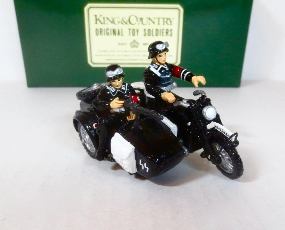 King & Country LAH Motorcycle Combo