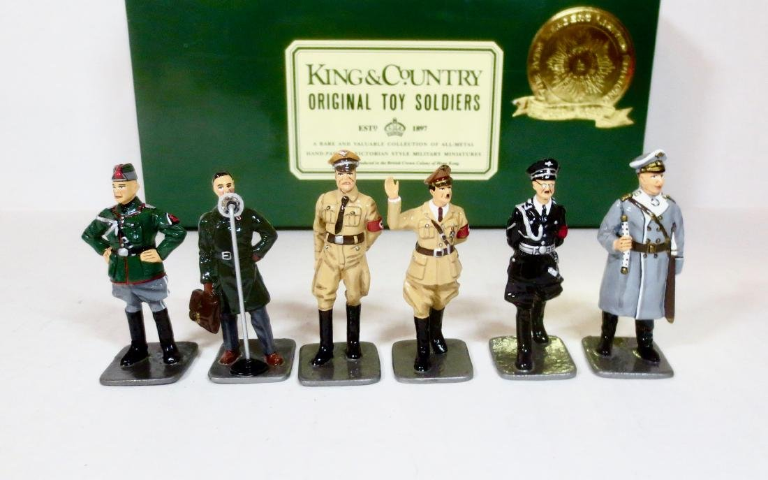 King & Country Limited Edition Axis Leaders