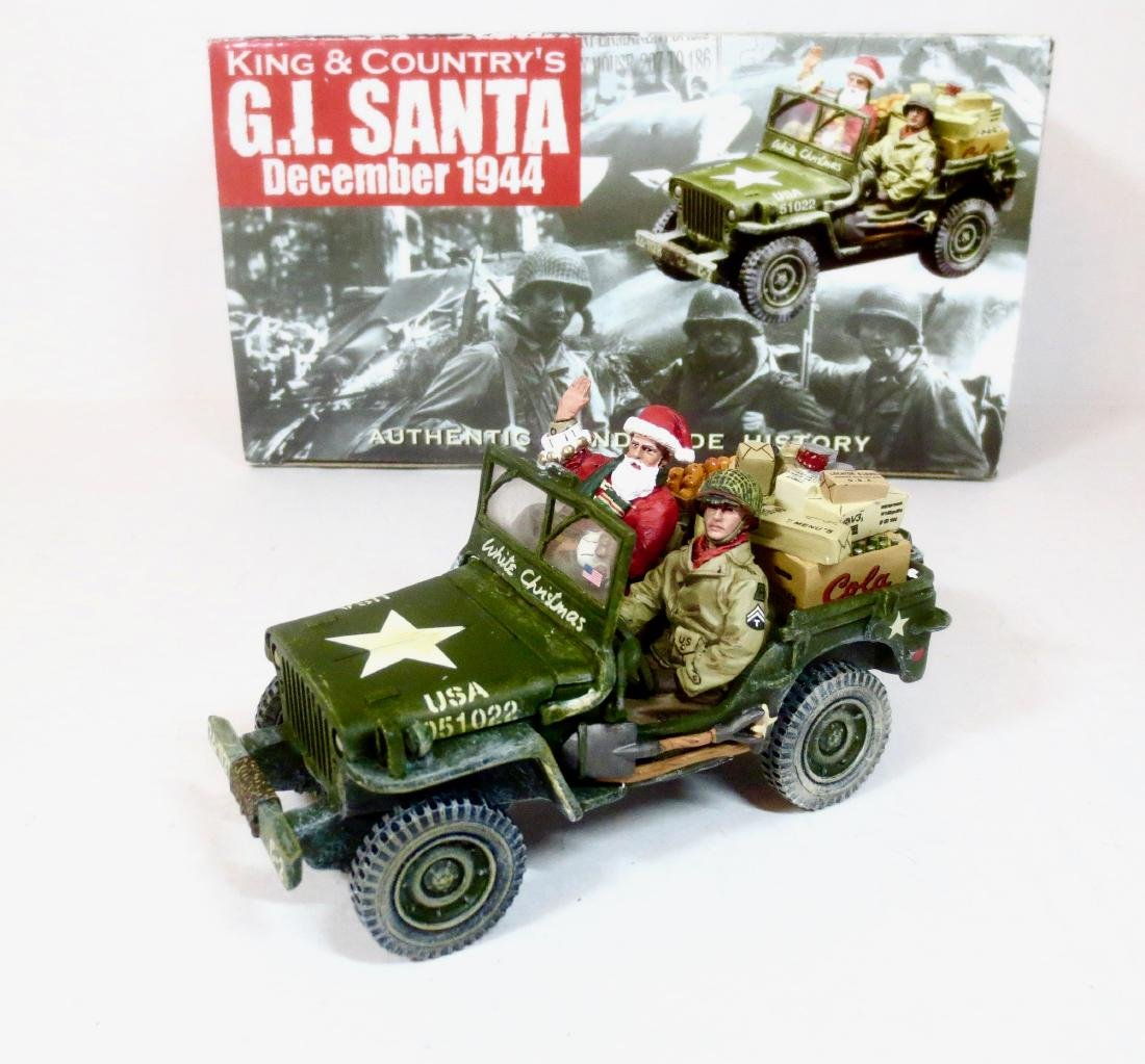 King & Country XM05-01 G.I. Santa