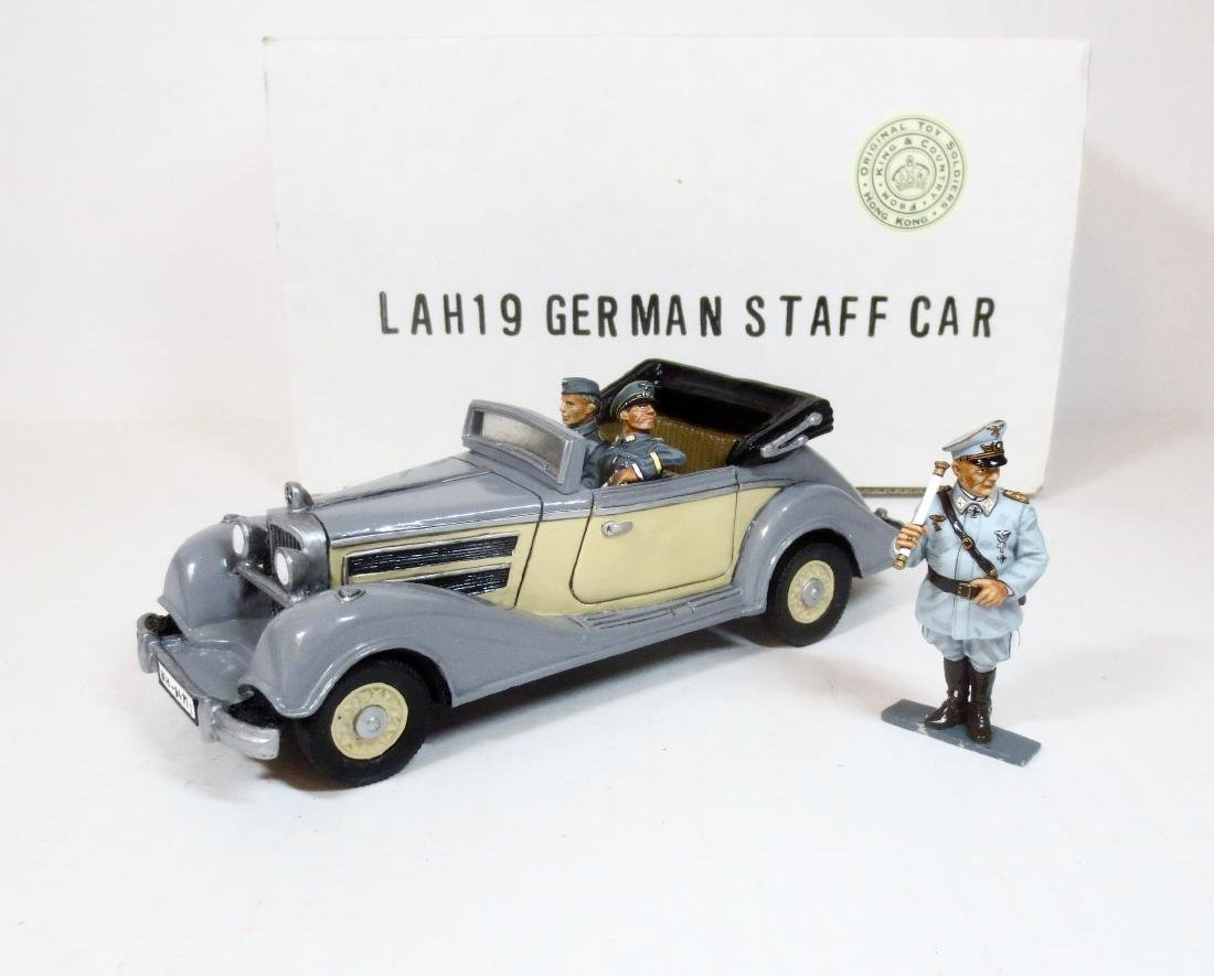 King & Country LAH19 German Staff Car