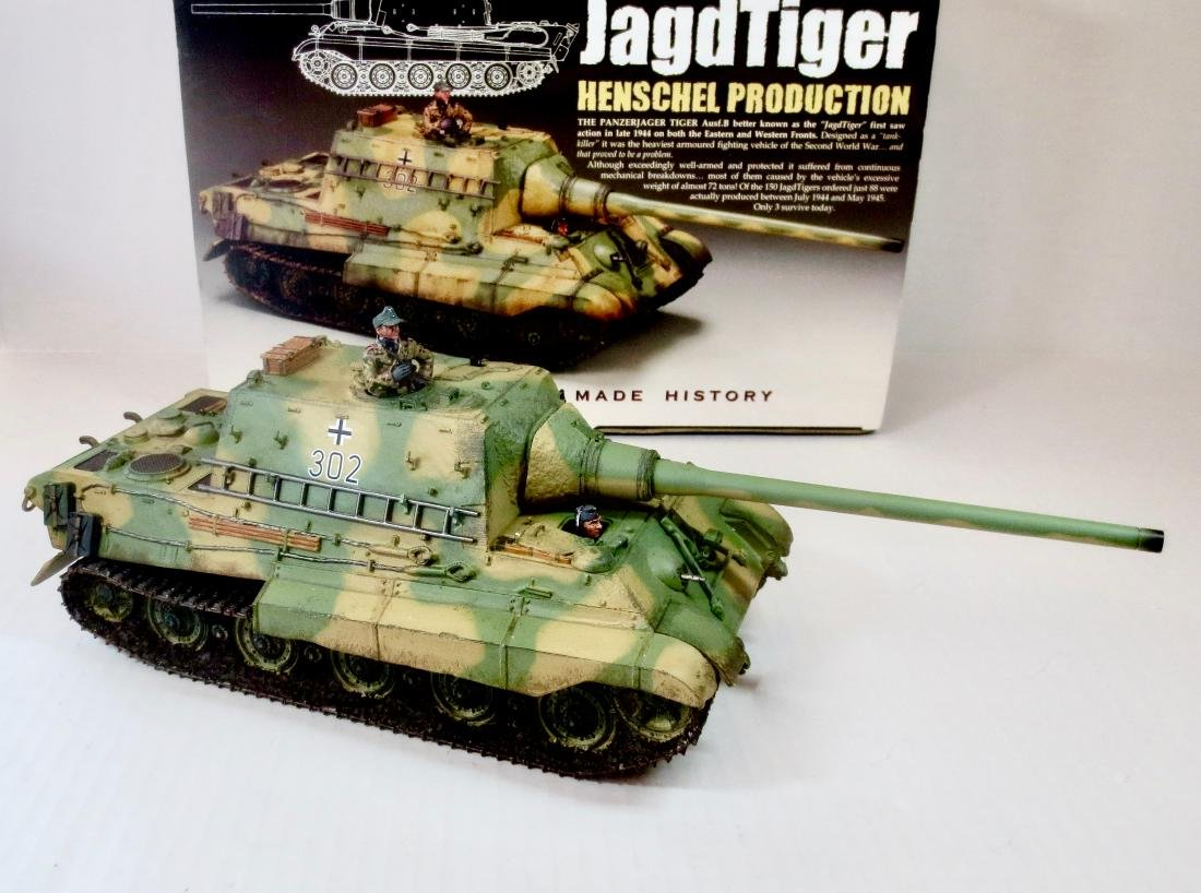 King & Country WS180(SL) Jagdtiger Tank Set