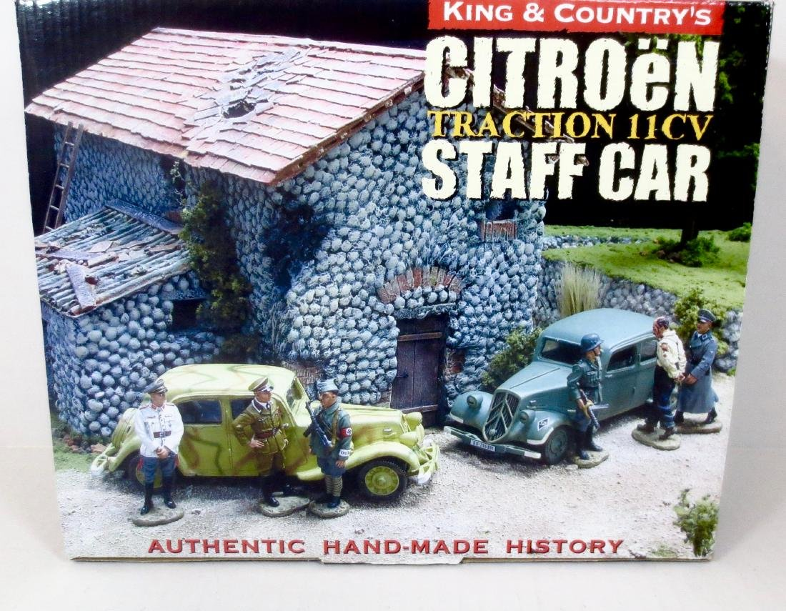 King & Country WS092 Citroen Staff Car