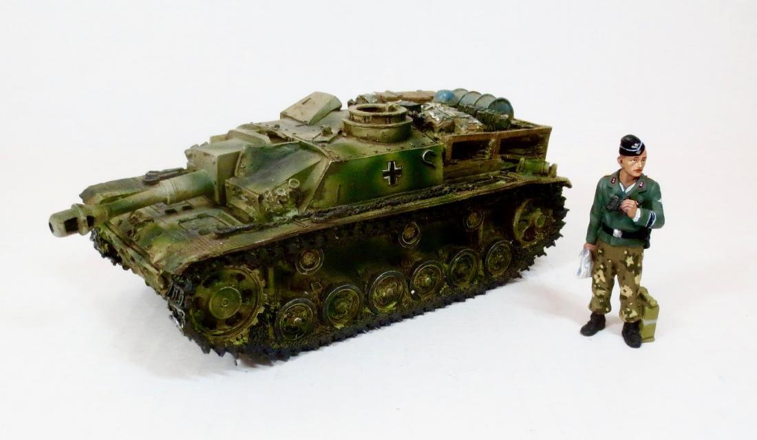 King & Country WW2 German Tank