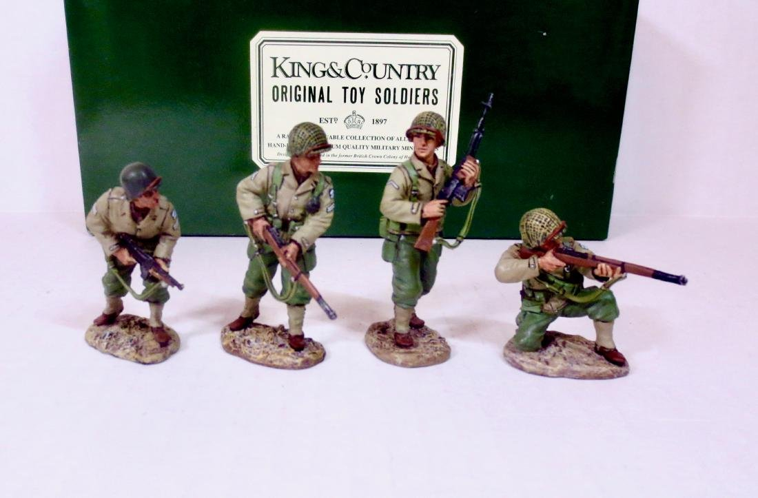 King & Country DD033 4 Man Attack Patrol