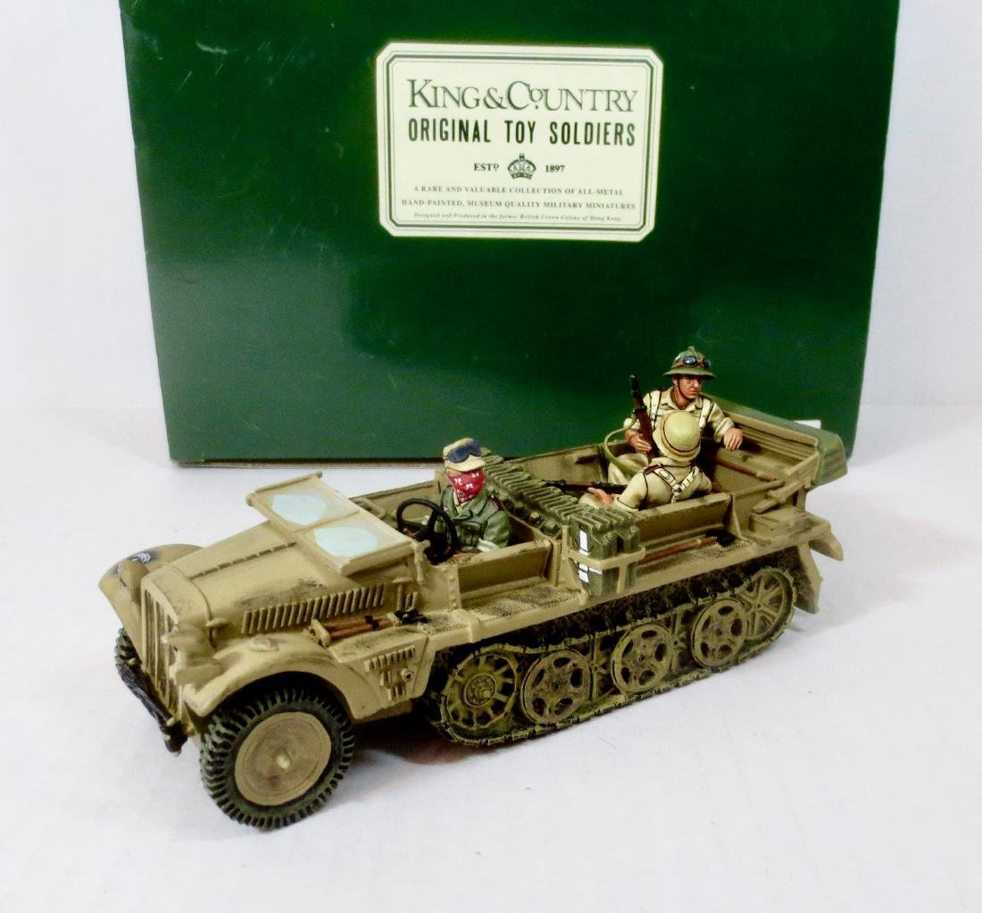 King & Country AK20D Afrika Corps Half Track