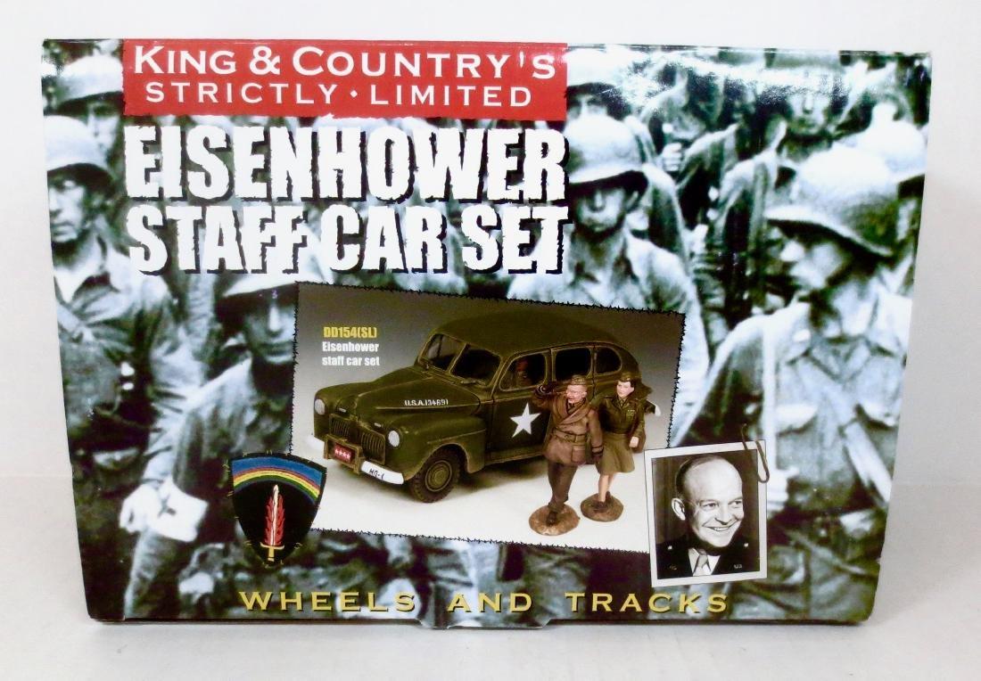 King & Country DD154(SL) Eisenhower Staff Car