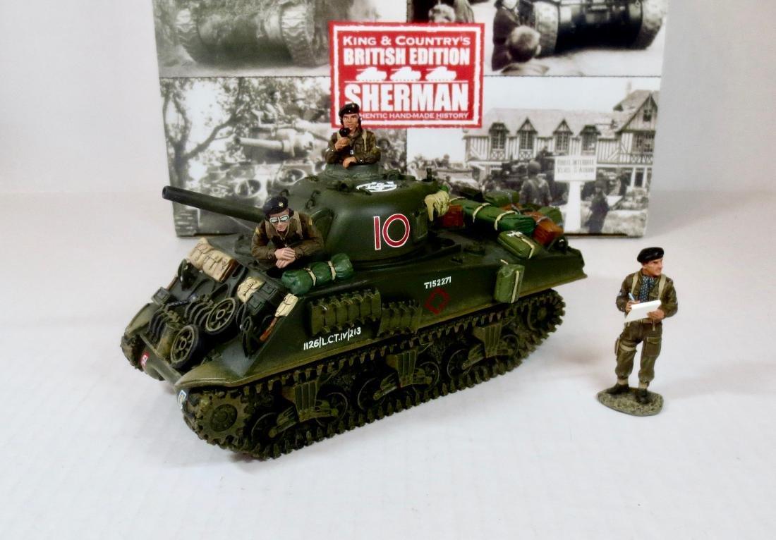 King & Country DD65 British Edition Sherman