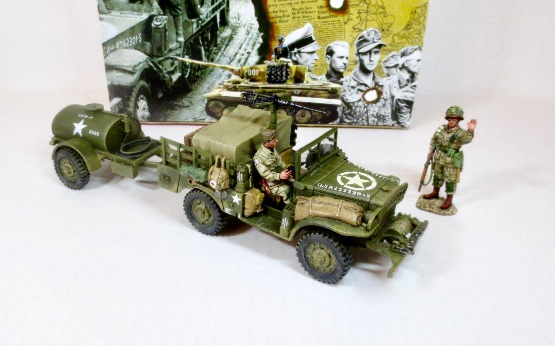 King & Country DD49 Dodge Weapons Carrier