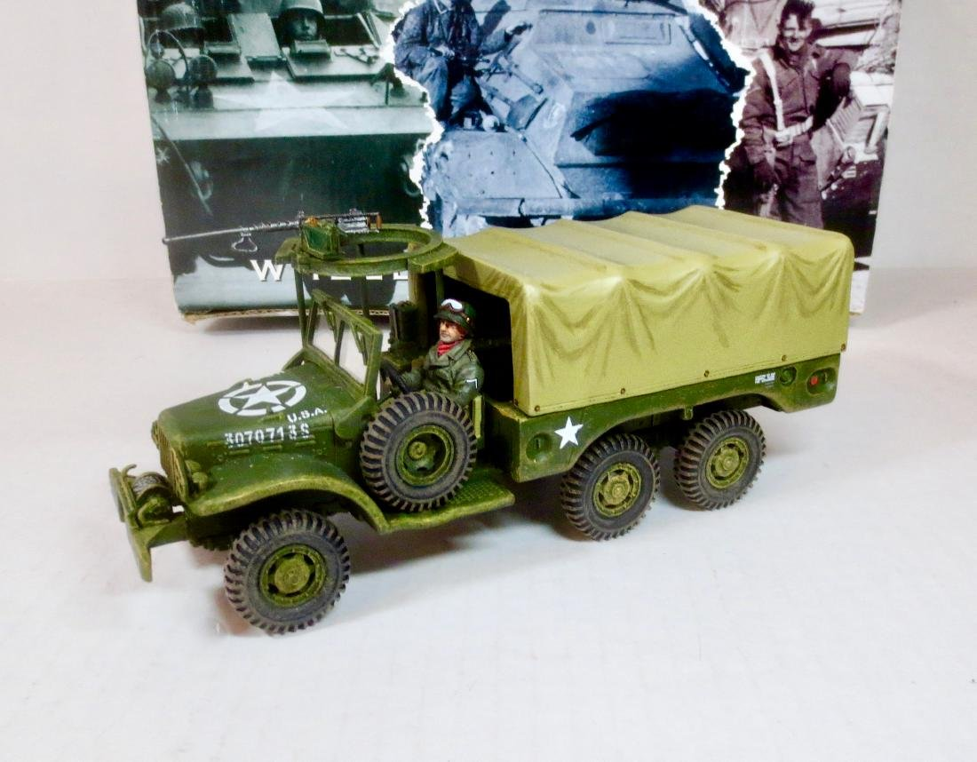 King & Country BBA038 WC 63 1 1/2 ton Truck
