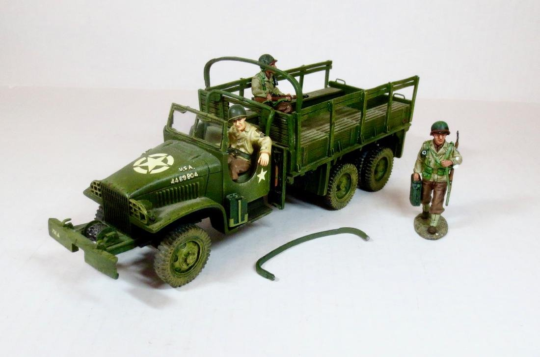 King & Country DD39A US ARMY GMC 2.5 TON JIMMY