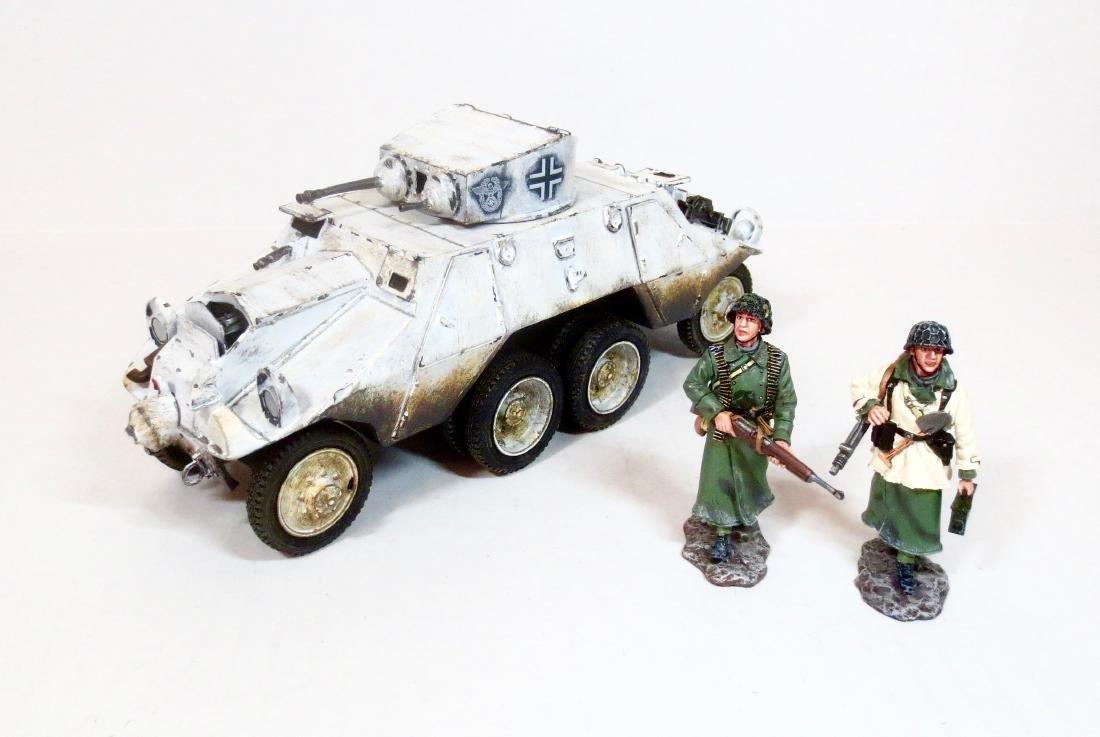 King & Country BBG043 Polizei ADGZ Armoured Car