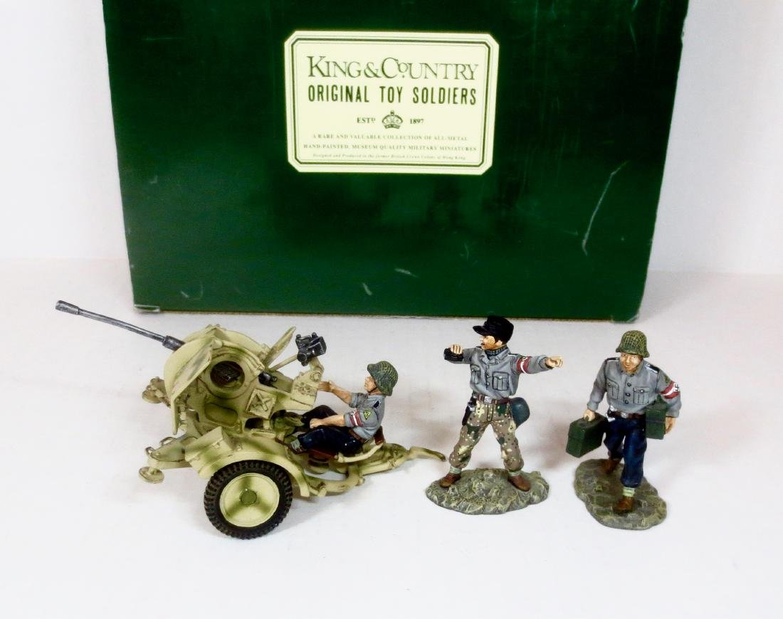 King & Country WS33 Waffen SS Flack Gun and Crew