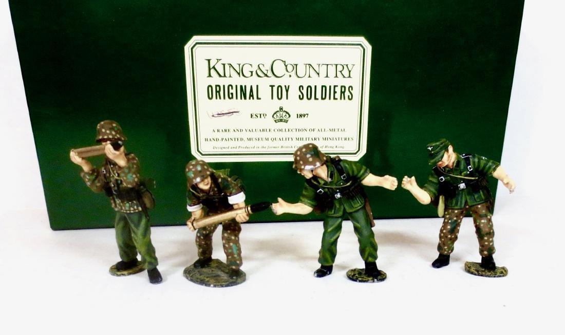 King & Country WS020 Four Flak Gun Gunners