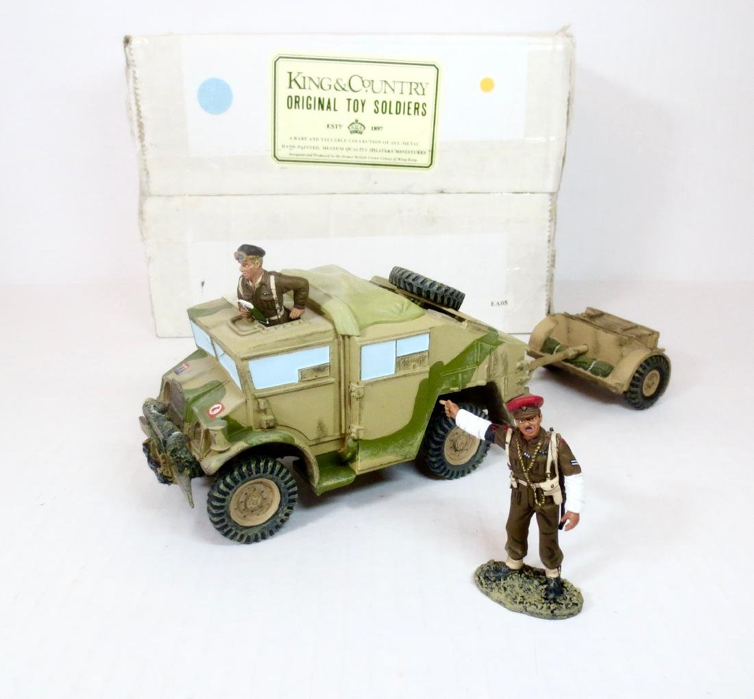 King & Country EA05 Field Gun Tractor & Limber