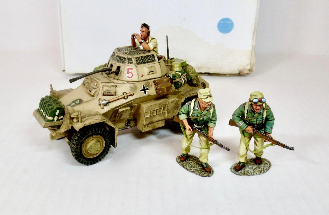 King & Country AK24A Afrika Corps Armoured Car