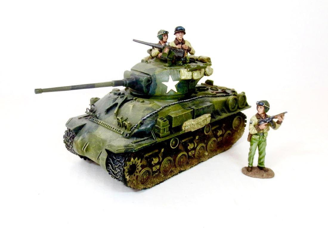 King & Country DD027 Sherman Easy-Eight Tank