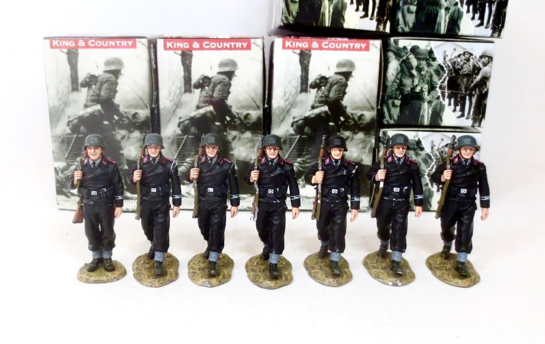 King & Country WS157 & WS158 Panzer Crewmen