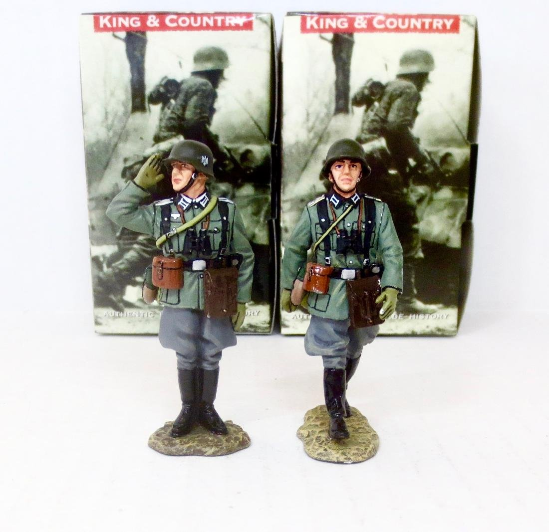King & Country WS093 & WS095 German Officers