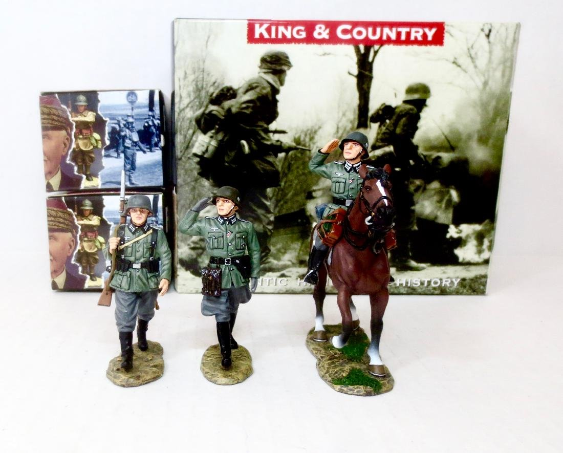 King & Country FOB56, FOB57 and FOB58