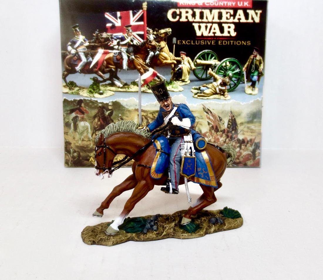 King & Country CRW19 Russian Hussar Charging