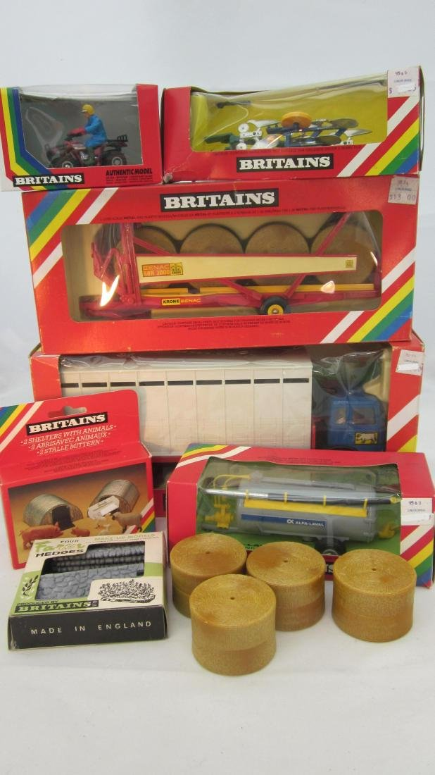 Britains Assorted Farm & Vehicles.