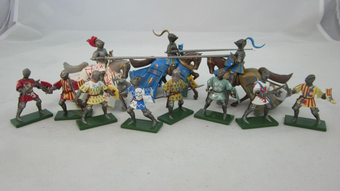 Britains Assorted Knights of 1998.