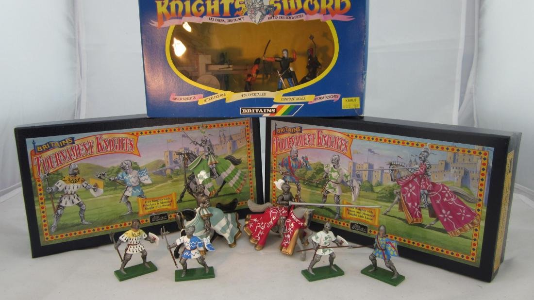 Britains Knights Medley of 1998.
