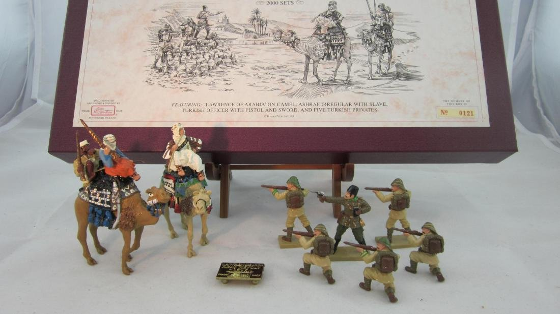 Britains Set #5298 Lawrence & Arab Revolt, 1917.