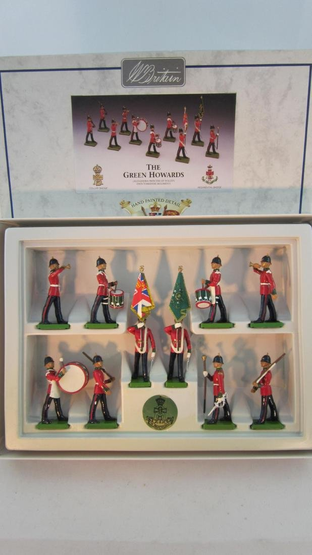 Britains Set #5800 Green Howards.