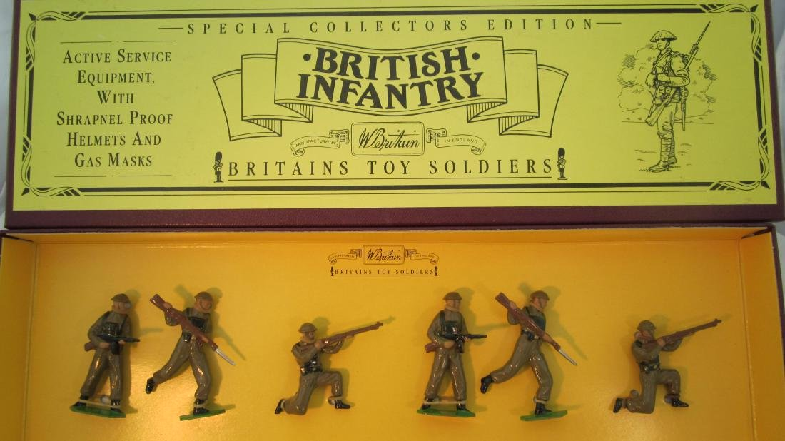 Britains Set #8803 British Infantry in Khaki.