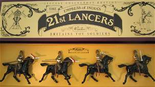 Britains Set 8806 17th Lancers Foreign Service