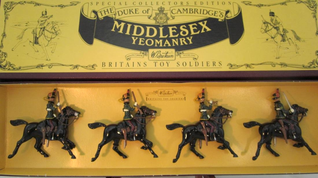 Britains Set #8812 Middlesex Yeomanry.