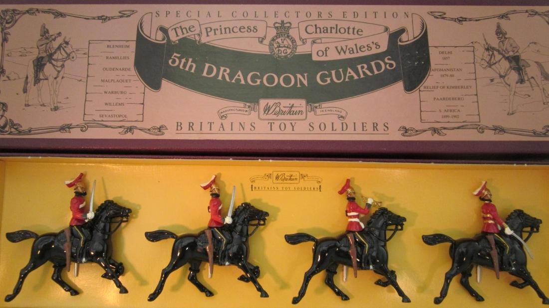 Britains Set #8821 5th Dragoon Guards.