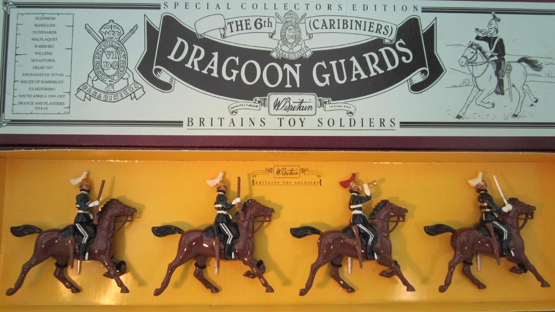 Britains Set #8828 6th Dragoon Guards.