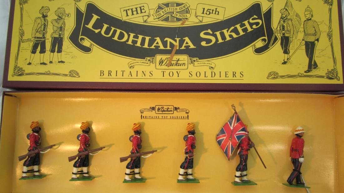 Britains Set #8832 15th Ludhiana Sikhs.