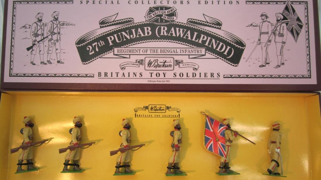 Britains Set #8842 27th Punjab Bengal Infantry.