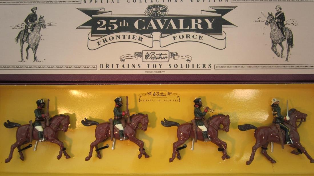 Britains Set #8844 25th Cavalry Frontier Force.