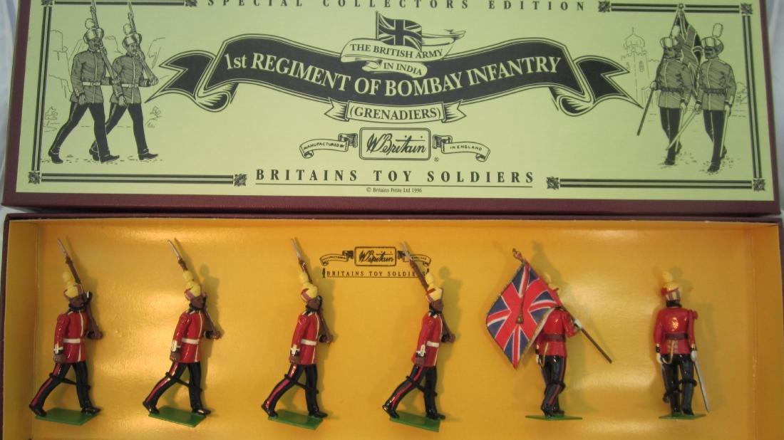 Britains #8845 1st Regiment of Bombay Infantry.