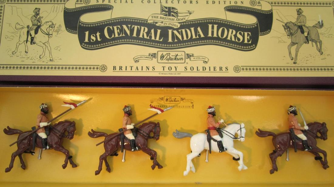 Britains Set #8846 1st Central India Horse.