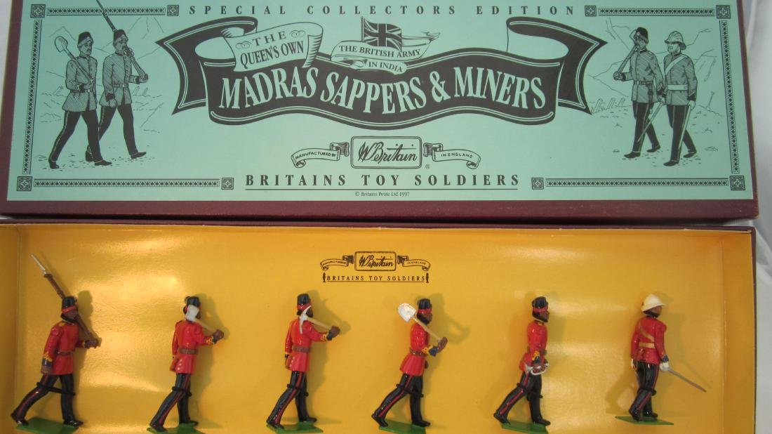Britains Set #8847 Madras Sappers & Miners.