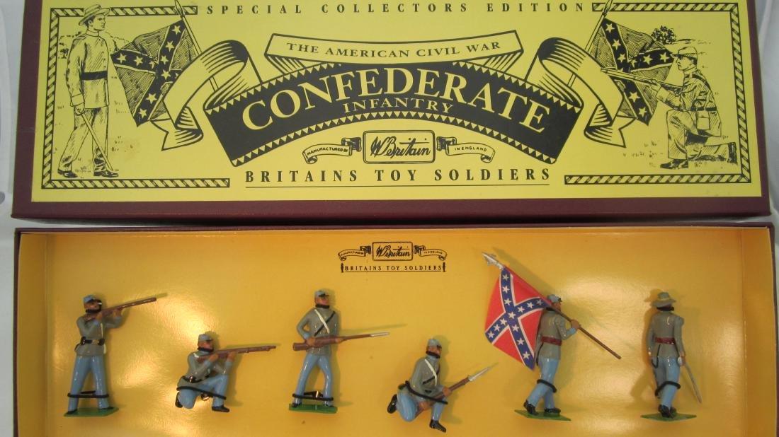 Britains Set #8851 Confederate Infantry.
