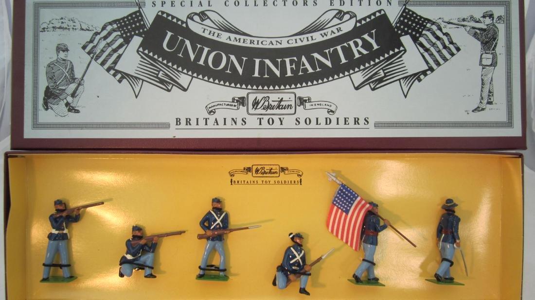 Britains Set #8852 Civil War Union Infantry.