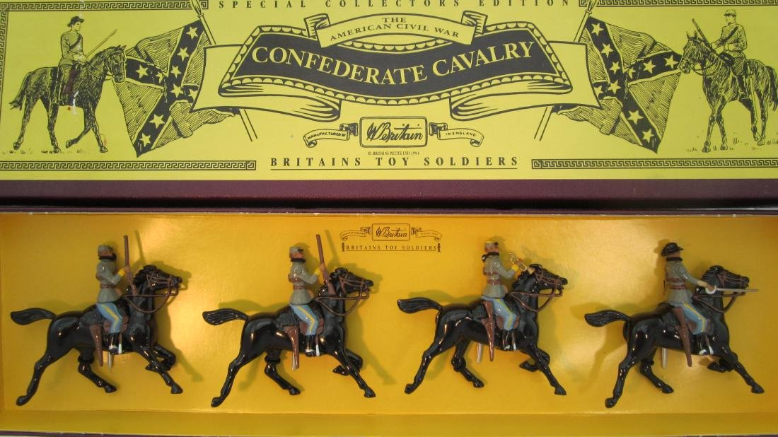 Britains Set #8853 Confederate Cavalry.
