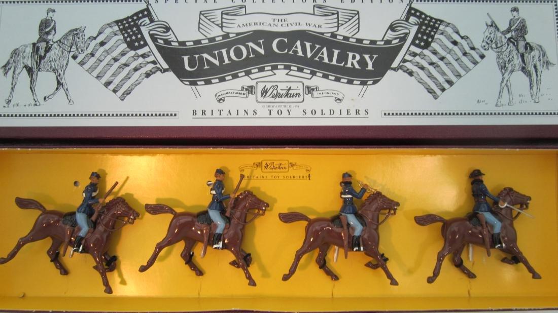 Britains Set #8854 Union Cavalry.
