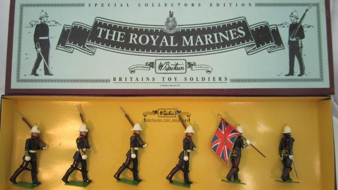 Britains Set #8855 Royal Marines.