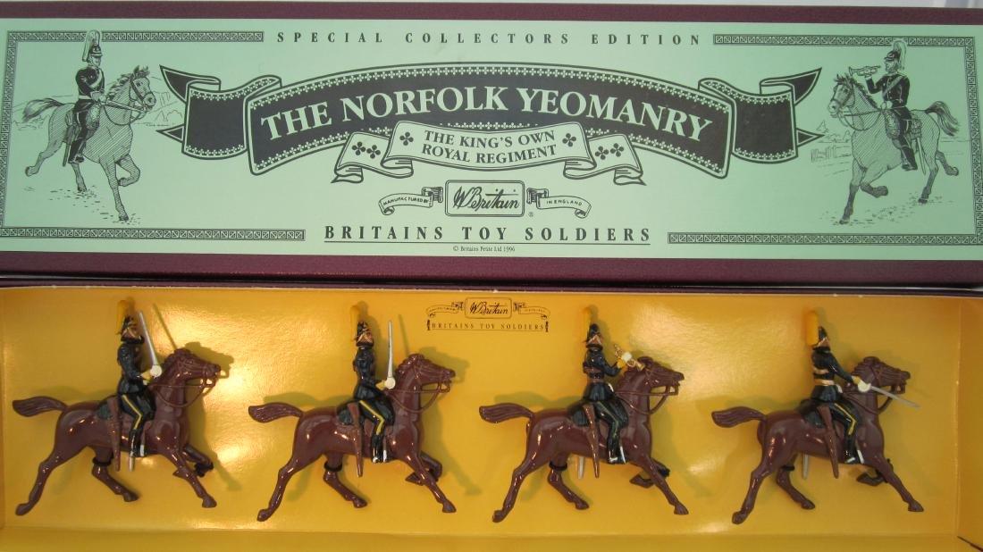 Britains Set #8892 Norfolk Yeomanry.