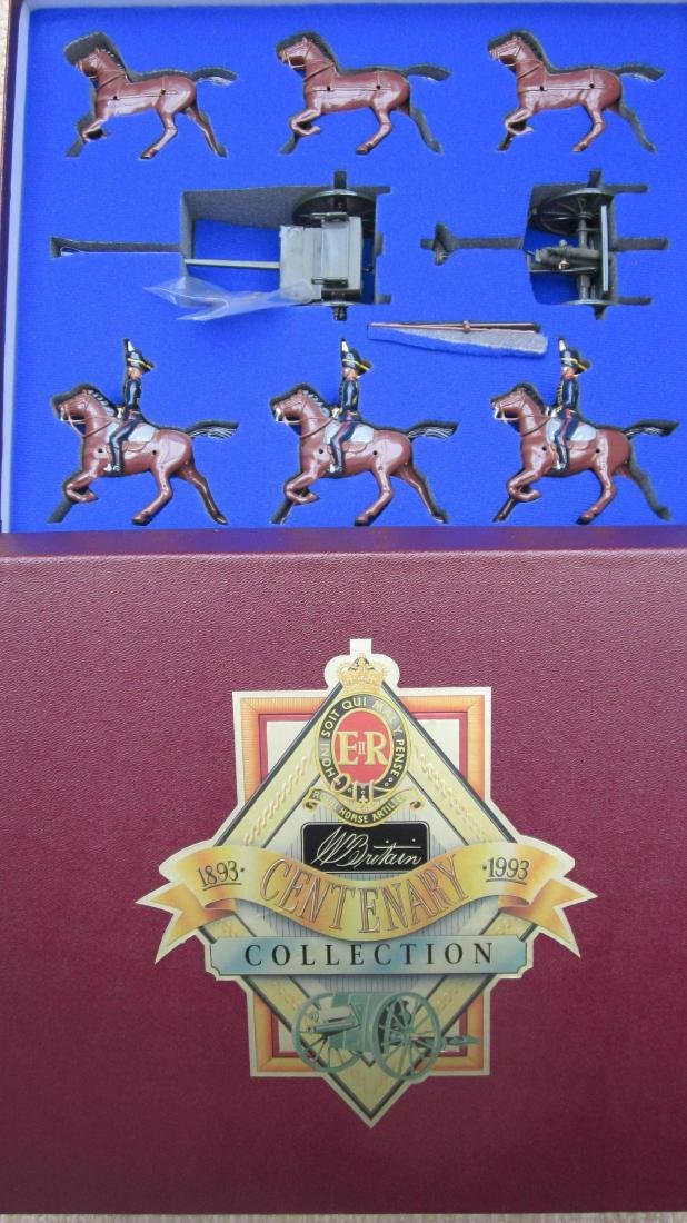Britains Set #8825 Royal Horse Artillery.