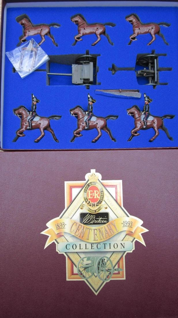 Britains Set #8825 Royal Horse Artillery.
